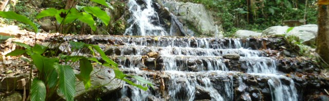 Waterfall lower outside Chiang Mai