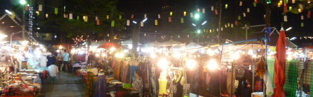 trinkets at the chiang mai night bazaar