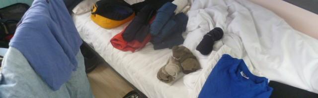 folding my own laundry