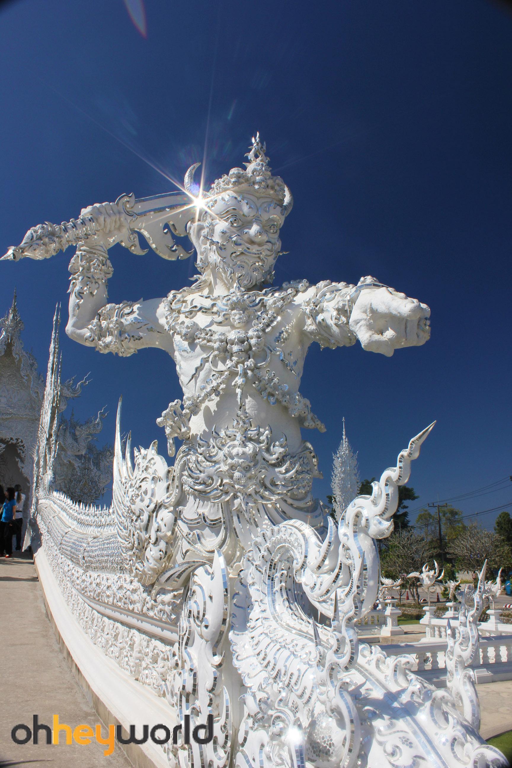 White Temple - Guardians of the bridge