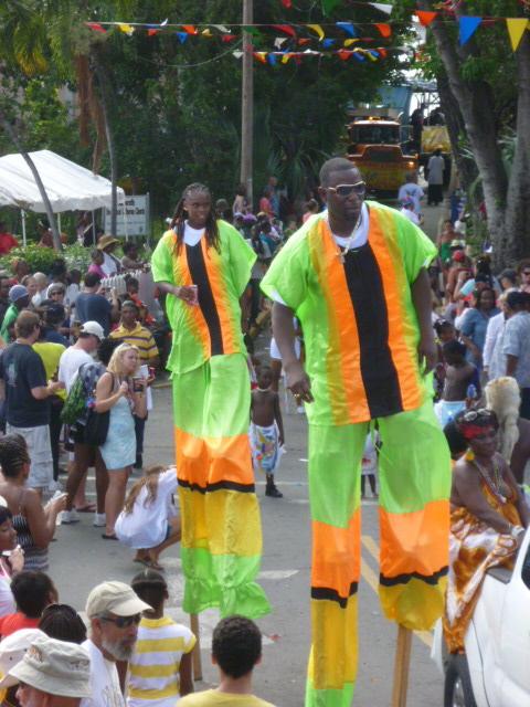 Carnival in Saint John's USVI