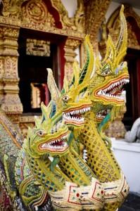 Wats in Chiang Mai, Thailand