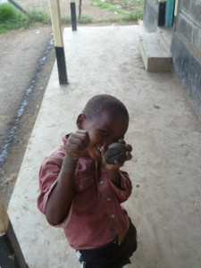 Kid in Kenya