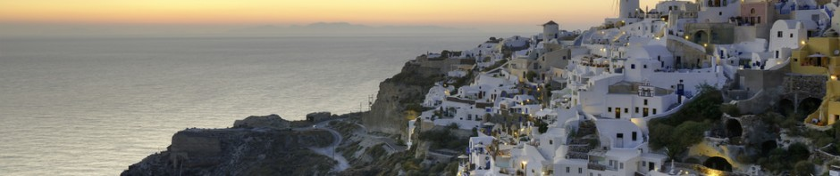 Staying in one of the classic Santorini hotels offers stunning sunset views before you hit the hay.
