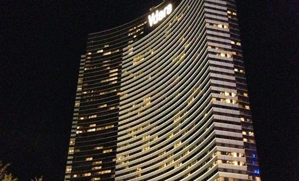 The Vdara Hotel in Las Vegas is known for its intense reflections of sunlight.