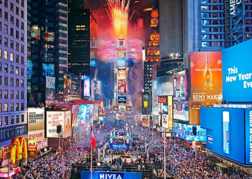 Most Popular Destinations for New Years Around the World - new york