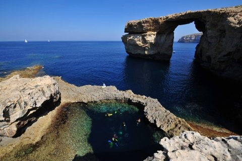 Gozo diving sites