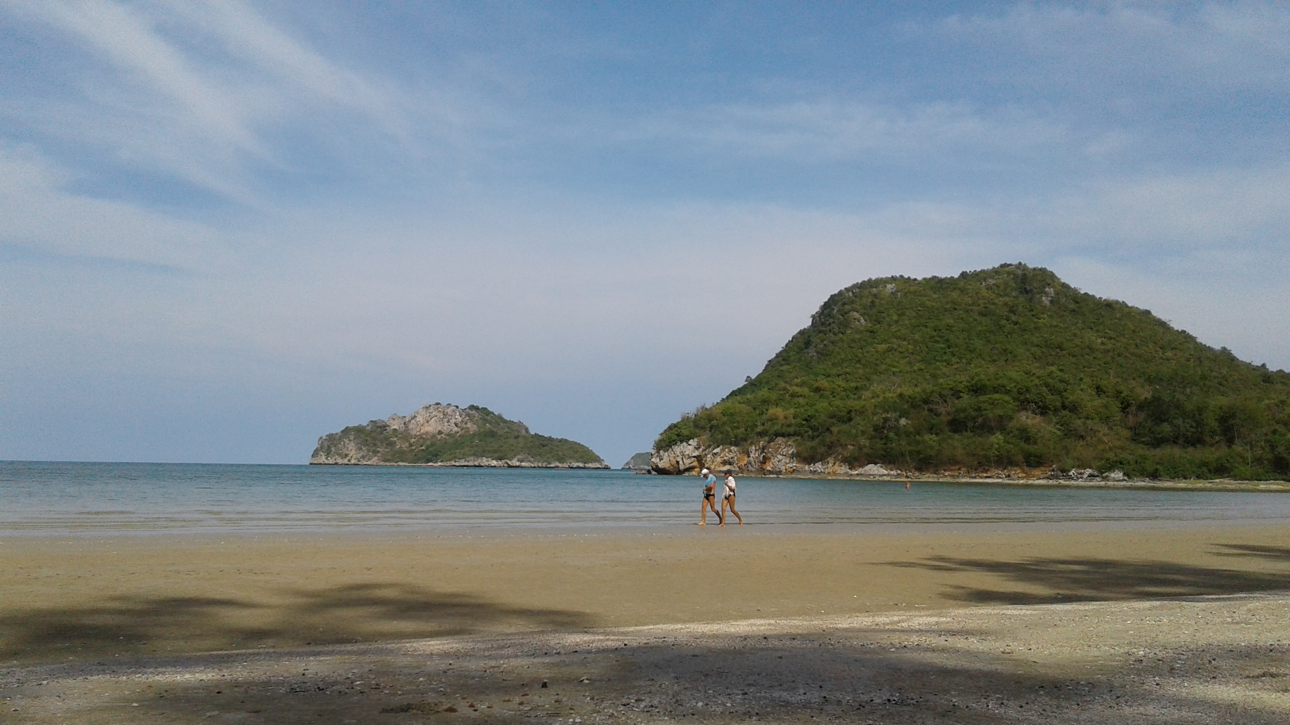 prachuap kirikhan bay beach
