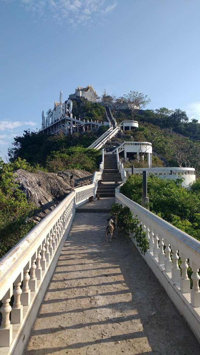 prachuap kirikhan - monkey temple