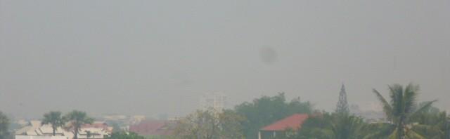 Smoke in Chiang Mai air