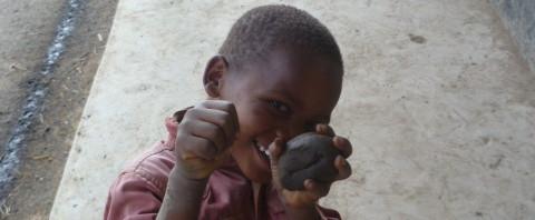 Kid in Kenya